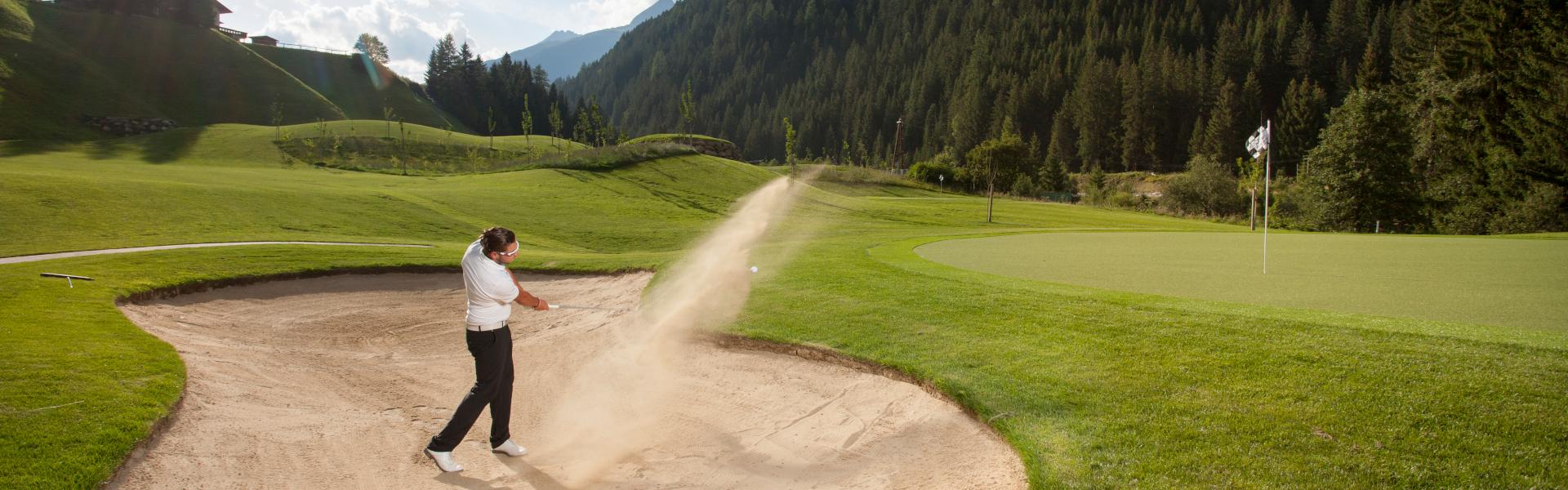 Freizeit - Golf - Headerbild