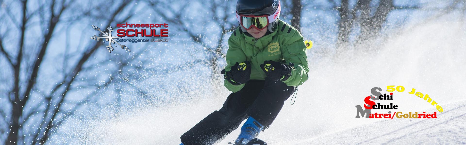 Freizeit - Skischule - Headerbild