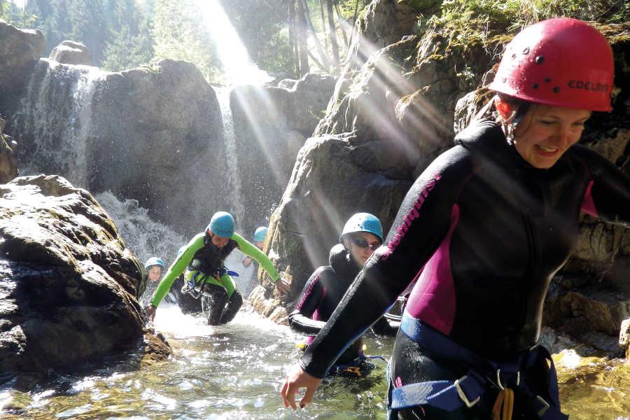 Freizeit - Sommer - Adventurepark Osttirol - Canyoning