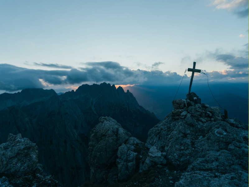 Freizeit - Sommer - Bergsteigen und Klettern - Symbolfoto