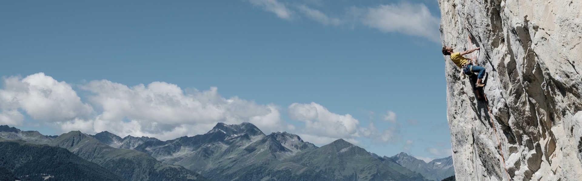 Freizeit - Sommerfreizeit - Klettern - Headerbild