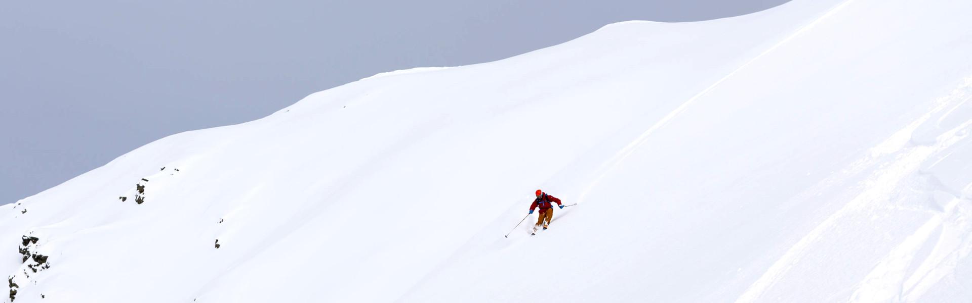Freizeit - Winter - Freeriden - Headerbild