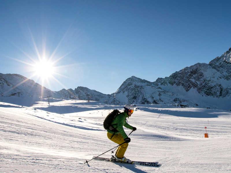 Freizeit - Winter - Skigebiet Brunnalm - Symbolfoto1
