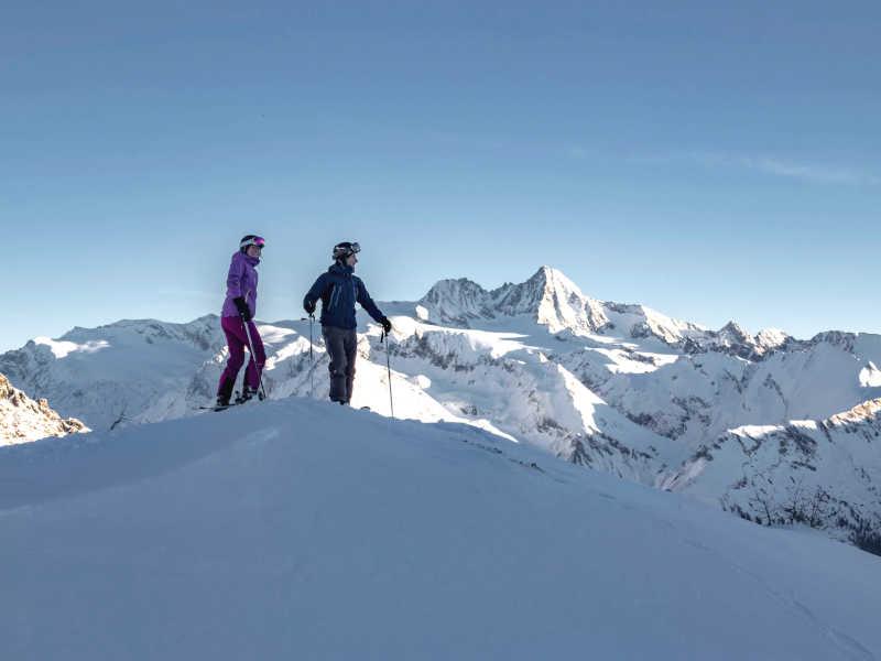 Freizeit - Winter - Skigebiet Großglockner Resort - Symbolfoto 1