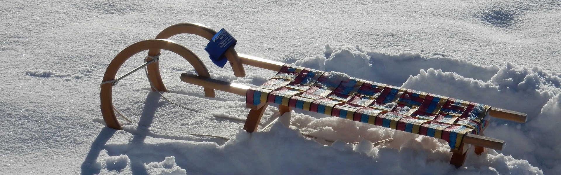 Freizeit - Winterfreizeit - Rodeln - Headerbild