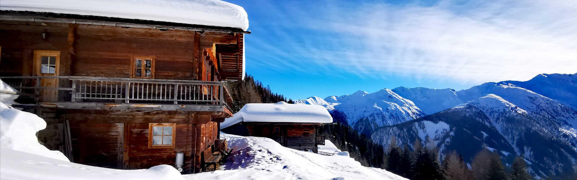 Freizeit - Winterfreizeit - Schneeschuhwandern - Headerbild