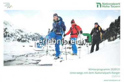 Winterprogramm 2020-21 Nationalpark