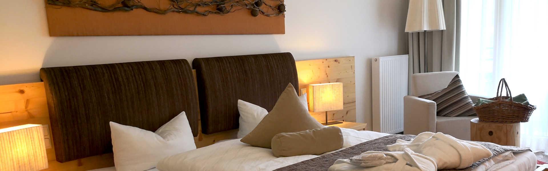 Zimmer - Doppelzimmer Zedern Klang - Headerbild