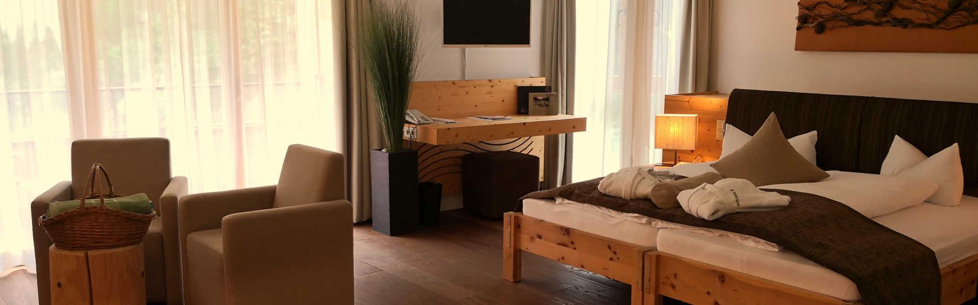 Zimmer - Suite Schwarzach - Headerbild